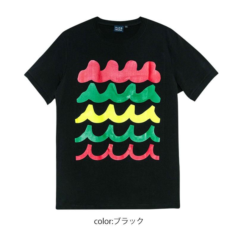 RAINBOW WAVE Tシャツ【全3色】