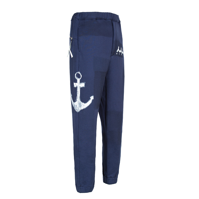 ACANTHUS x muta MARINE SWEAT EASY RIB PANTS_20SS【全2色】