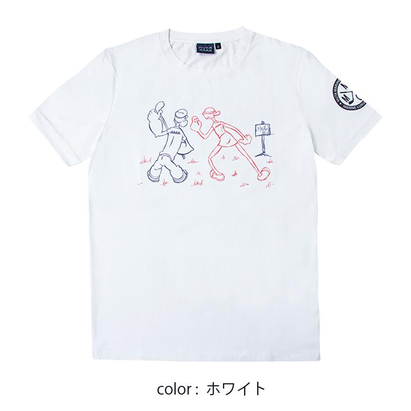 POPEYE meets mutaMARINE GOLF Tシャツ【全2色】