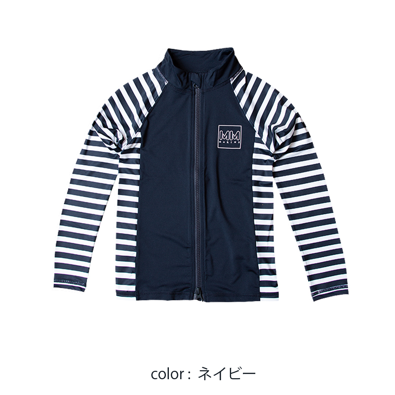 KIDS ラッシュスタンドパーカー【SIDE BORDER/2色】