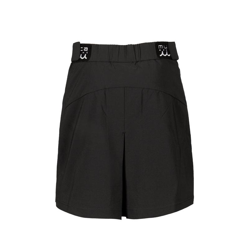 ストレッチナイロン タックスリットスカート【全3色】