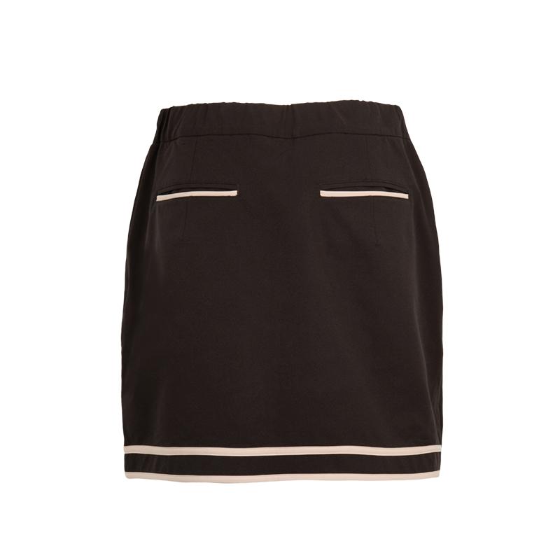 パイピングラップスカート【全3色】