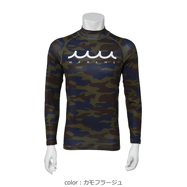 ラッシュロングTシャツ【WAVE/6色】