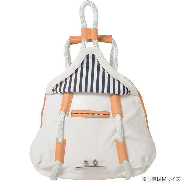 クリートセーラーバッグ・ゴート革 【ホワイト】