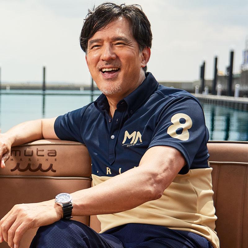 muta MARINE BICOLOR MM ポロシャツ【全3色】