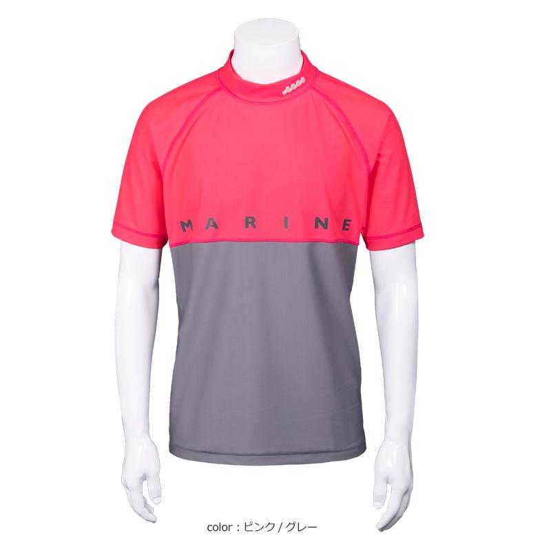 クールタッチ モックネックTシャツ【全4色】