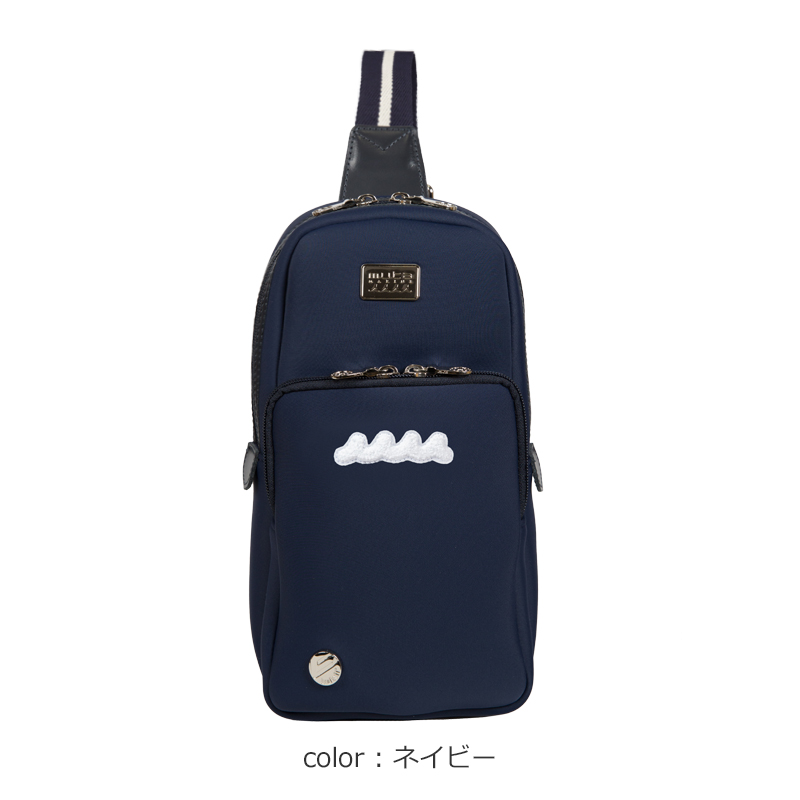 muta x bonfanti ショルダーバッグ・ネオプレーン【全4色】