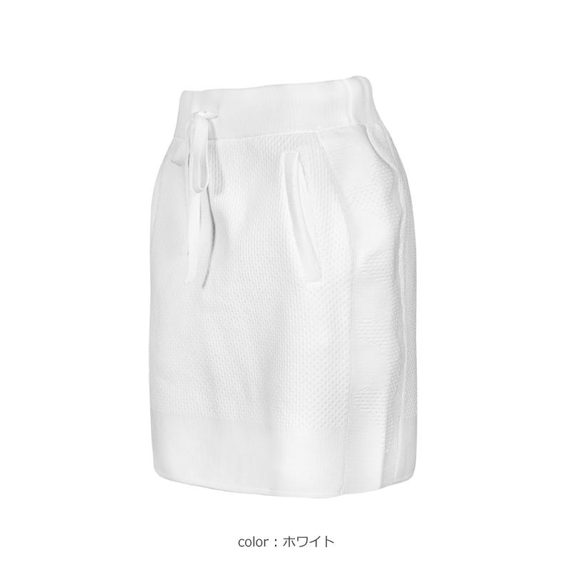 モールディングジャガードニット スカート【全3色】