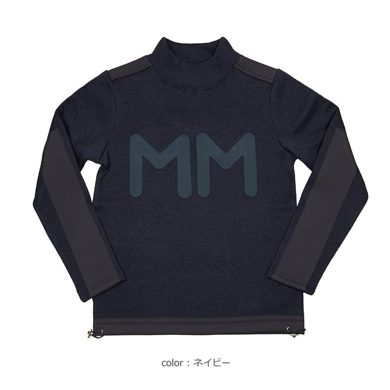 MM ニット切替プルオーバー【全3色】