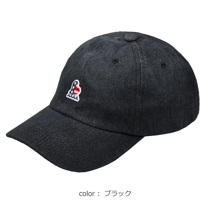 US HEARTデニムキャップ【全3色】