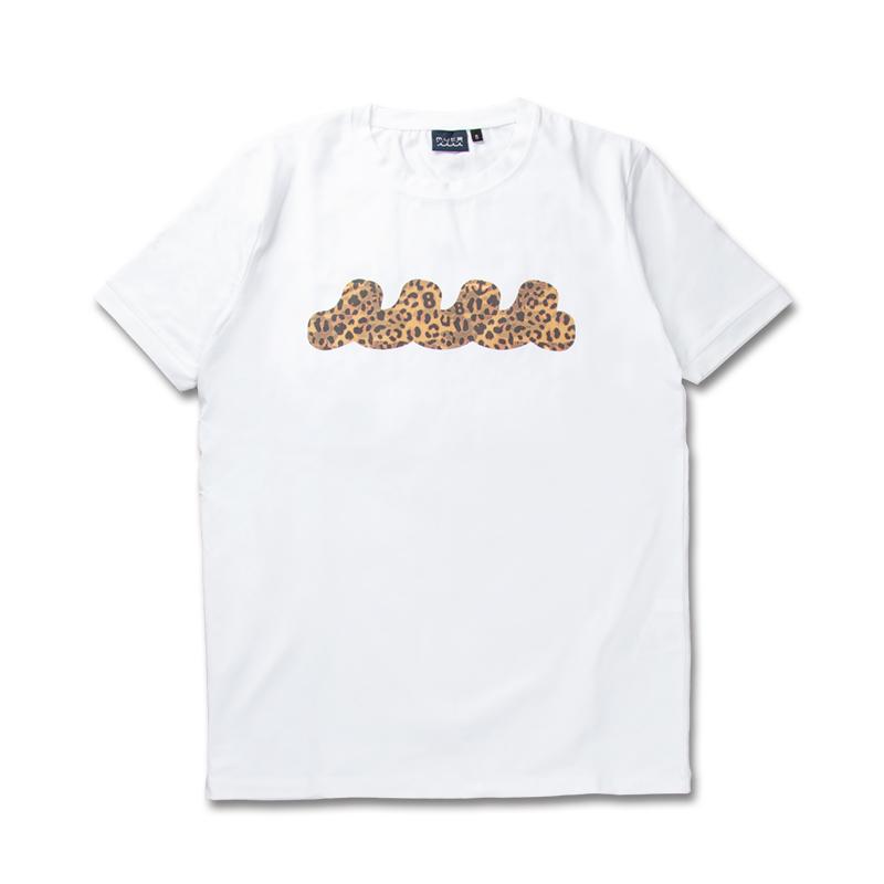 LEOPARD WAVE Tシャツ ver2【ホワイト】