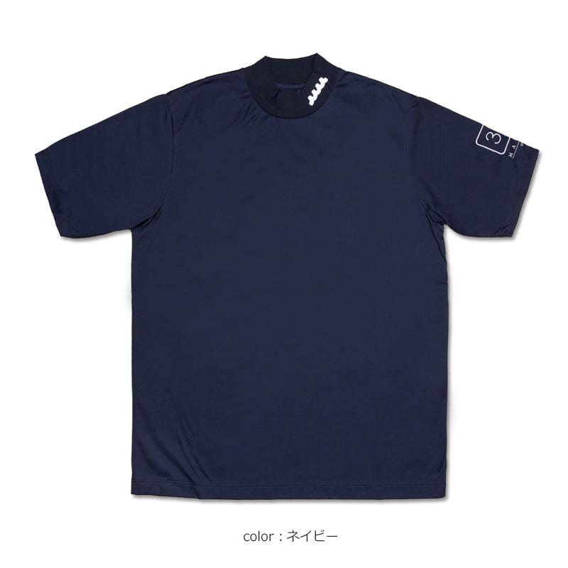 muta MARINE GOLF ハイネックシャツ【全3色】