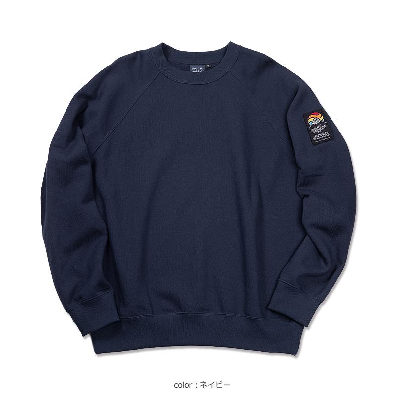 サンライズワッペン クルーネックスウェット【全6色】
