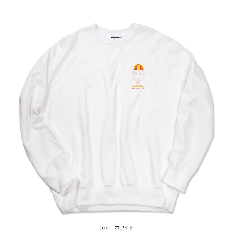 サーフレスキュー クルーネックスウェット【全4色】