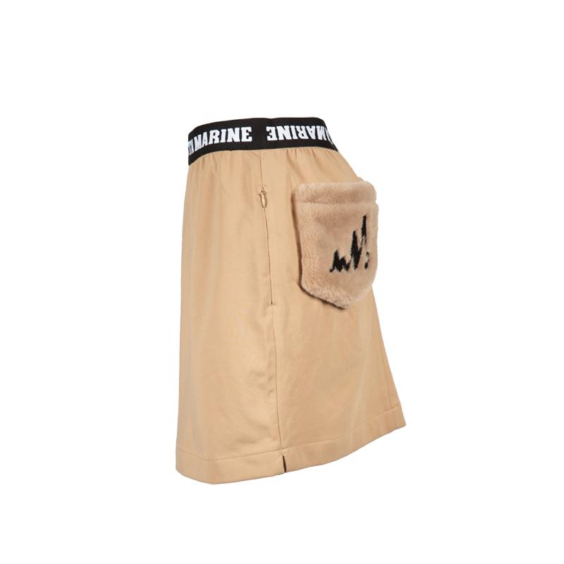 ファーポケットスカート【全3色】