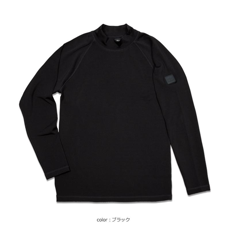 ストレッチ ハイネックロングスリーブTシャツ【全4色】