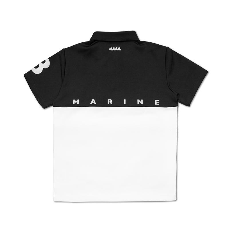 muta MARINE BICOLOR MM ボンディングポロシャツ【全3色】