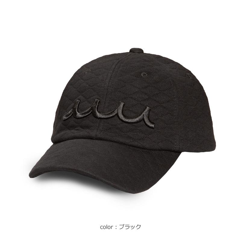 キルティング WAVEキャップ【全3色】