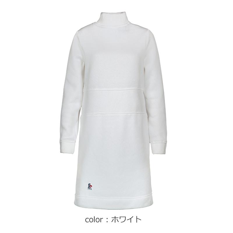 モックネックニットワンピース【全3色】