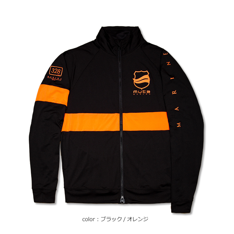 ラッシュスタンドパーカー【PANEL LINE/3色】