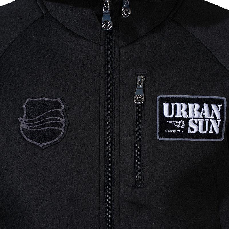 [WEB限定]URBAN SUN x muta MARINE ボンディングパーカー【ブラック】