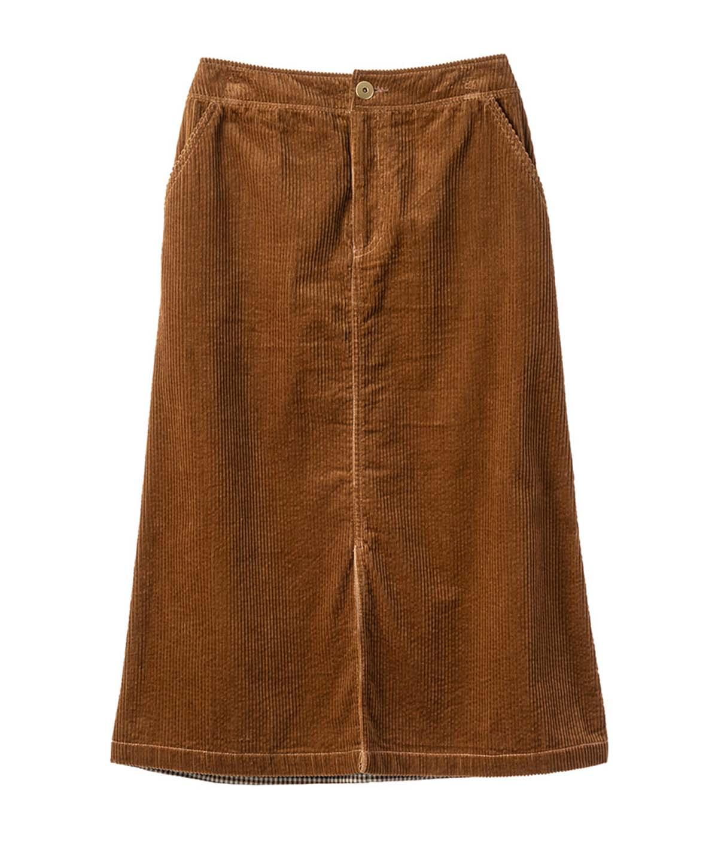 コーディロイコンビスカート