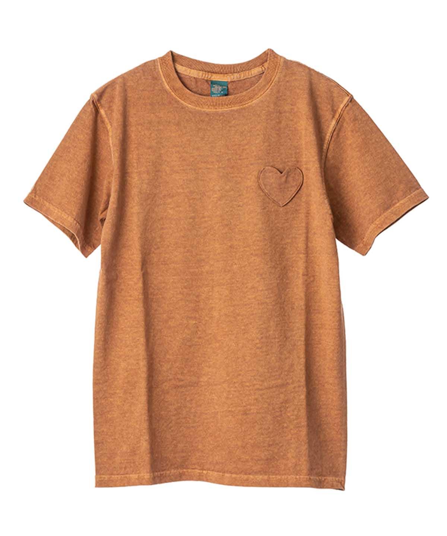 別注MUVEIL×Good On ハートパッチTシャツ