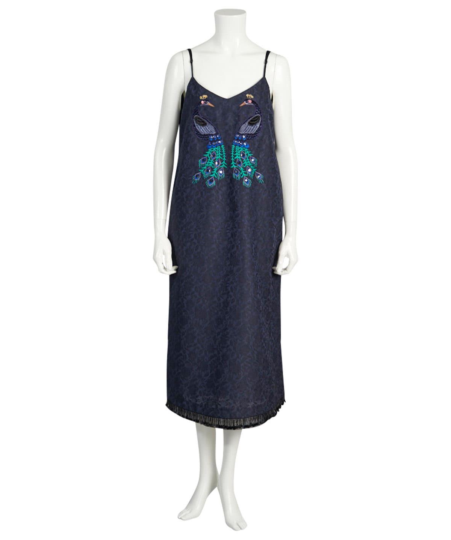 鳳凰刺繍キャミワンピース