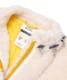 ビジュー刺繍ボアブルゾン