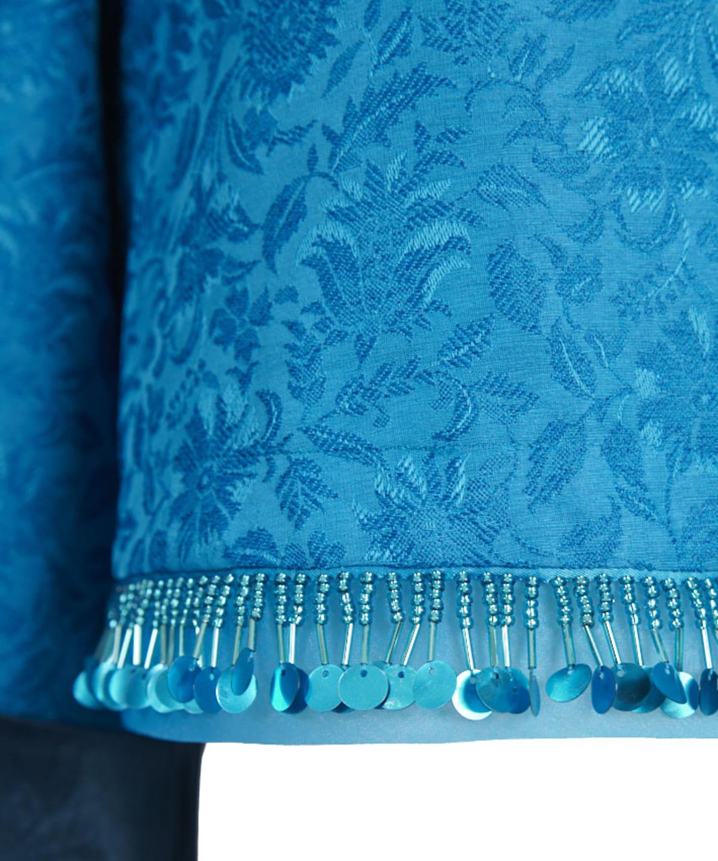 花刺繍チャイナジャケット