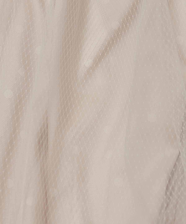 ドットチュールスカート