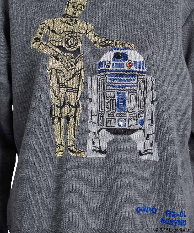 Star Wars C-3PO・R2-D2/ニット