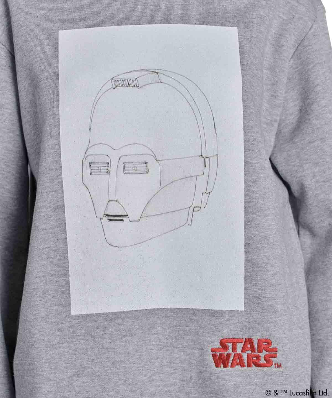Star Wars C-3PO/裏毛プルオーバー