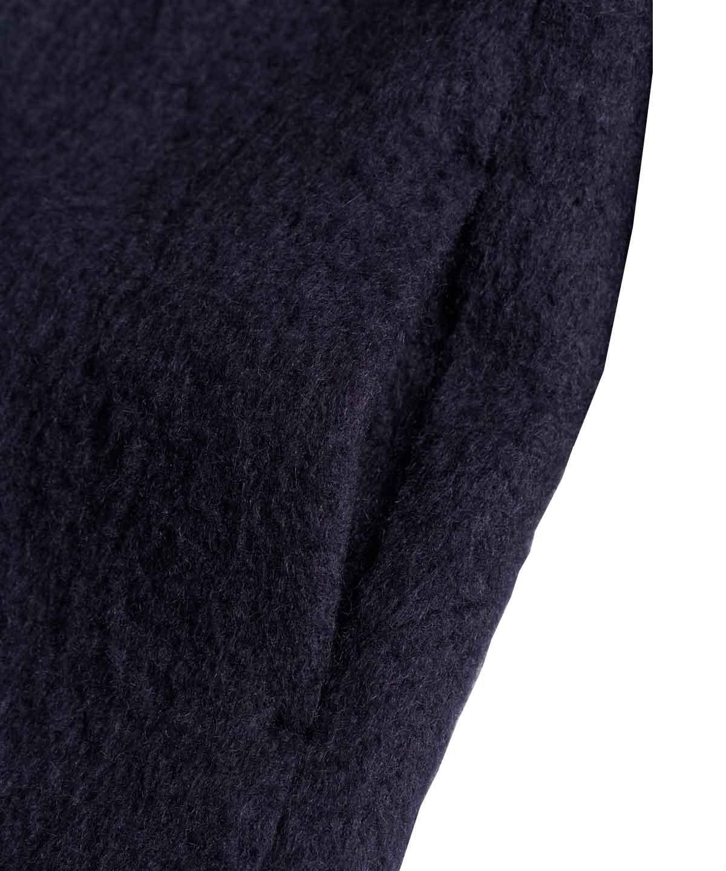 フラワーモチーフ刺繍コート