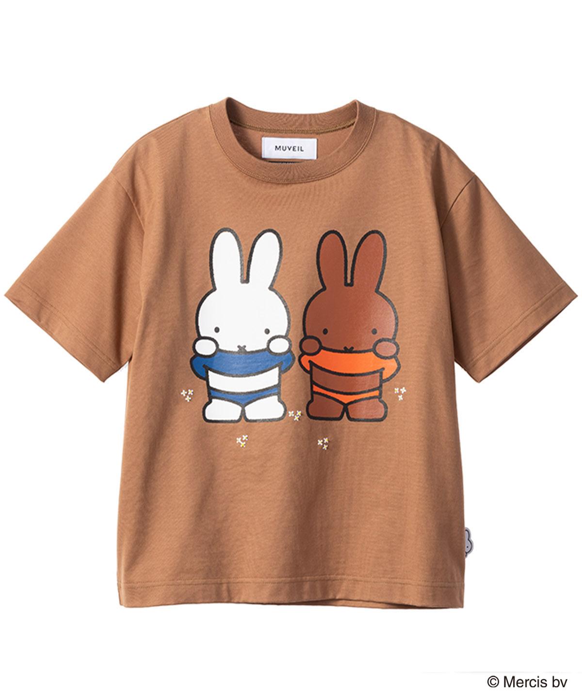 ミッフィーコラボプリントTシャツ