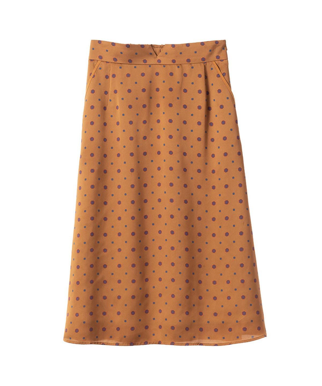 小紋柄スカート