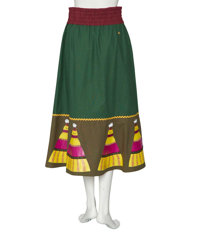 CPドールプリントスカート