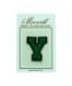 サガラ刺繍アルファベットワッペン Y