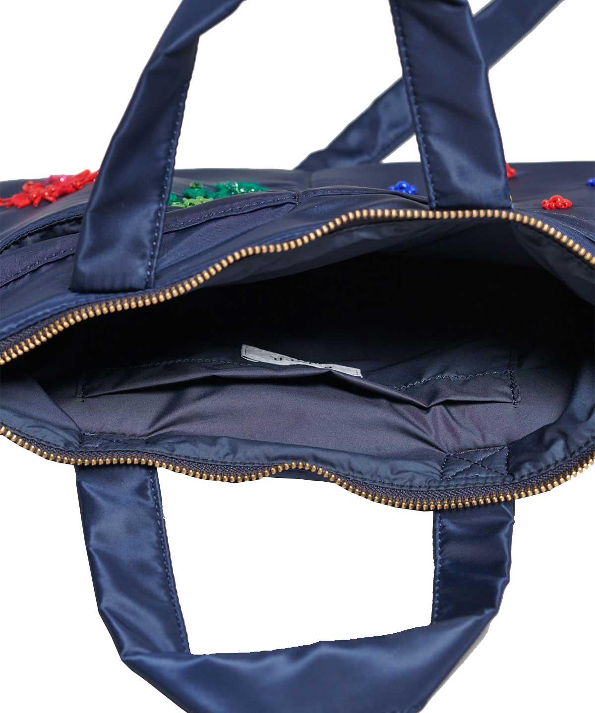 刺繍入りヘルメットバッグ