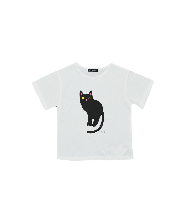 KIDSネコTシャツ