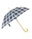チェック長傘