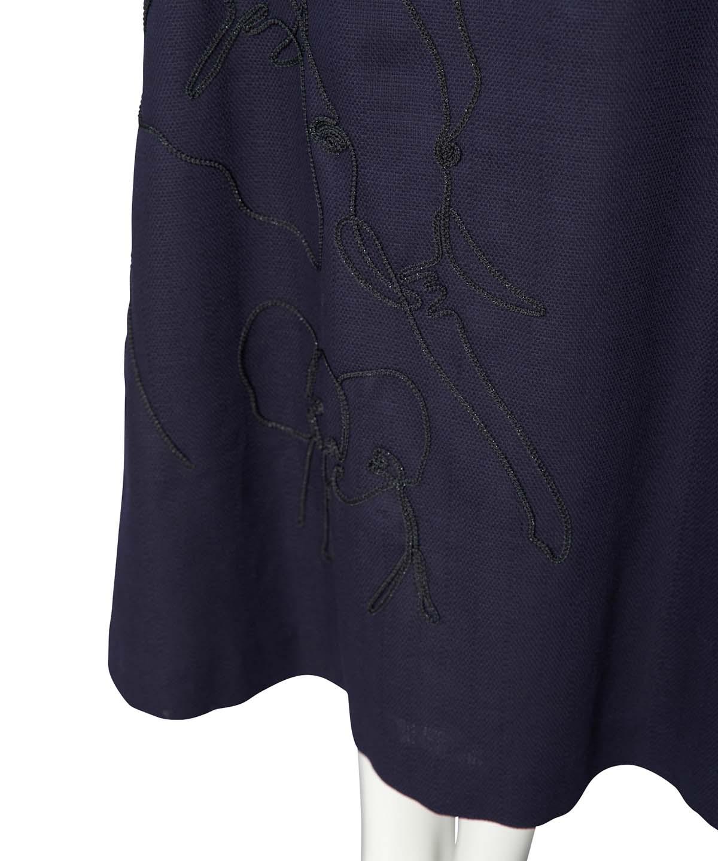 ゾウ刺繍スカート