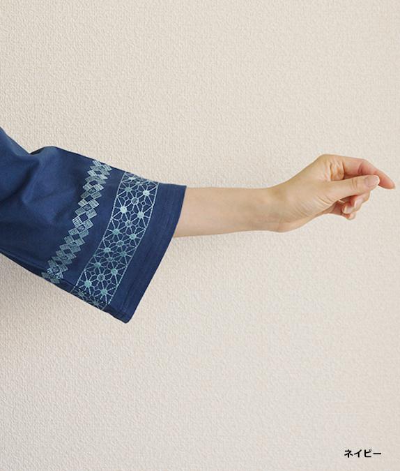【SALE50%OFF】クロスステッチ刺繍ワンピース