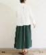 【SALE50%OFF】ベネチアンツイルギャザースカート