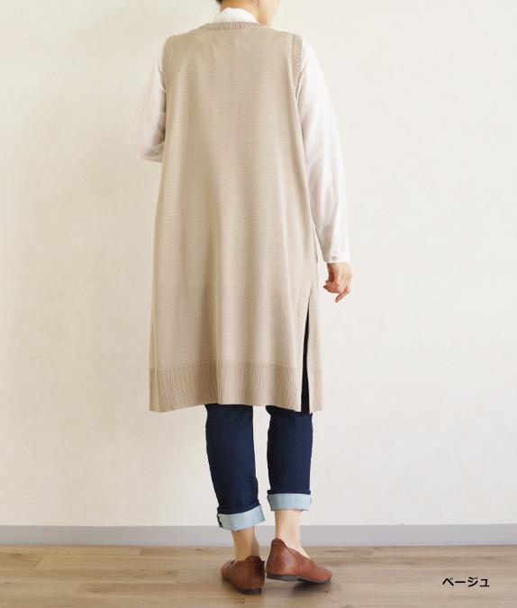 【SALE50%OFF】knitベスト