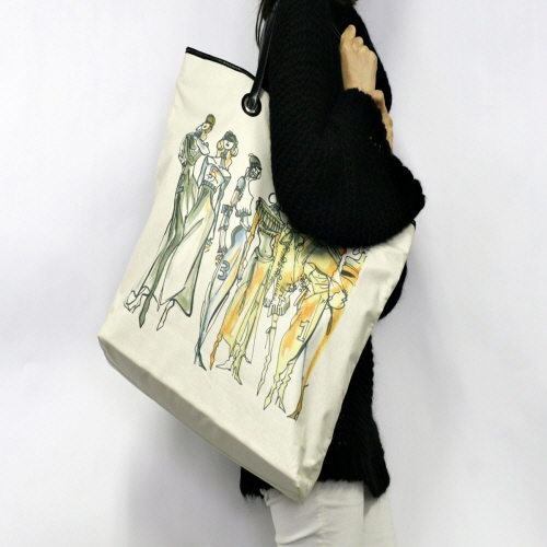 TAMA ファッションスケッチ ファッションモデル ブロンディ タマ PCバッグ レディース ファッションバッグ