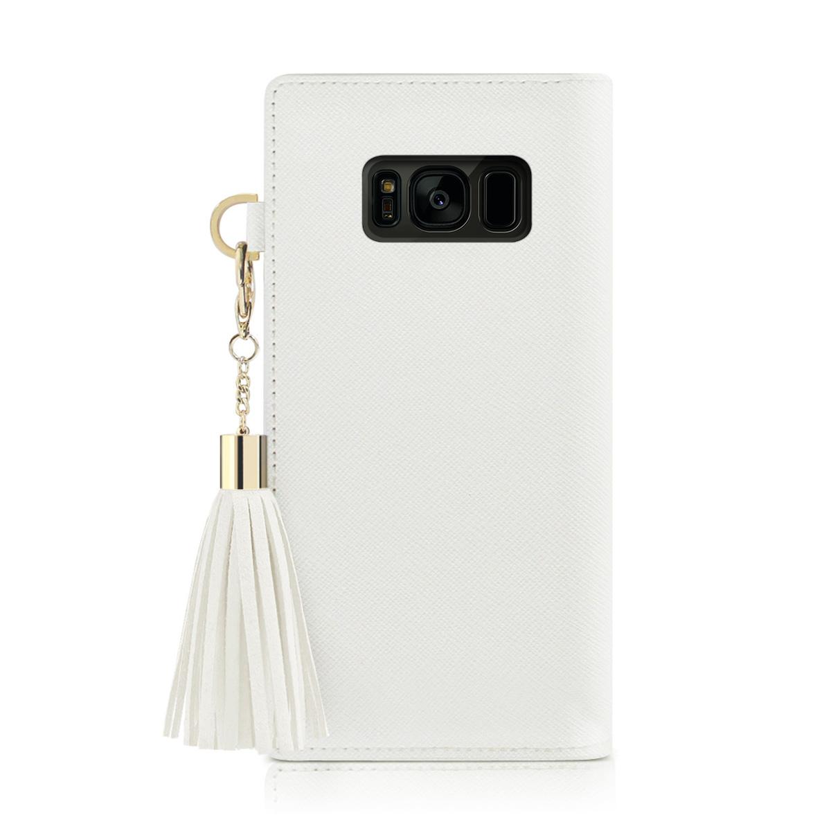 Galaxy S10 ケース 手帳型 DreamPlus Tassel Jacket(ドリームプラス タッセルジャケット) ギャラクシー カバー タッセル付き Galaxy S9 Galaxy S9+ Galaxy S8 Galaxy S8+