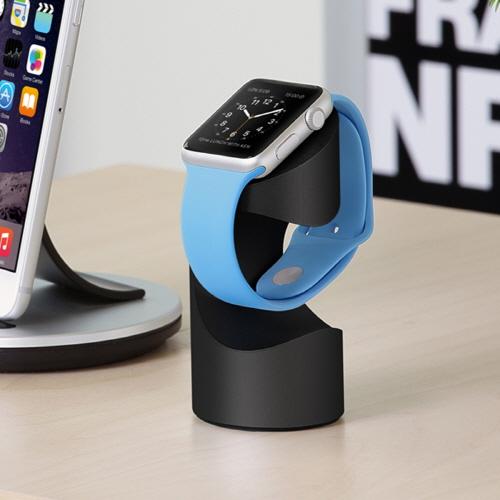 Apple Watch スタンド Just Mobile TimeStand(ジャストモバイル タイムスタンド)アルミニウム製 アップルウォッチ スタンド Apple Watchマグネット式充電ケーブル対応 Apple Watch バンド アップルウォッチ テレワーク 在宅勤務