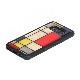 ikins Galaxy S20 ケース Galaxy S20+ ケース 天然貝ケース Mondrian(アイキンス モンドリアン) 天然素材 ギャラクシー エストゥエンティ ファイブジー カバー 背面カバー 5G SCG01 SC-51A SCG02 SC-52A Galaxy S20/S20+/S10/S10+/S9/S8