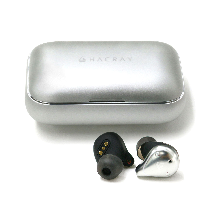 HACRAY W1 完全ワイヤレスイヤホン アルミ充電ケース ワイヤレスイヤホン カナル型 7時間連続再生 IPX7完全防水 スポーツに最適 Bluetooth 5.0 コードレス イヤフォン テレワーク 在宅勤務